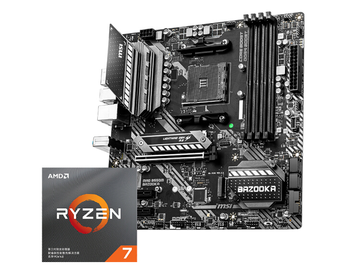 MAG B550M BAZOOKA motherboard + R7 3700X/R7 3800X/R9 3900X CPU motherboard+CPU set