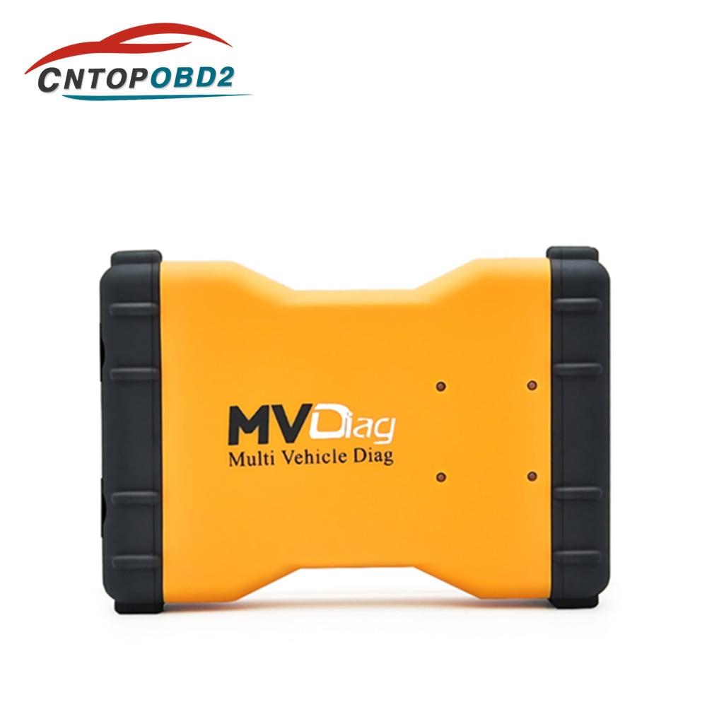 Neueste OBD2 2016. r1 Pro mvdiag V3.0 PCB mit bluetooth Multi Fahrzeug Diag für Autos/Lkw/Generics Auto Scanner Diagnose Werkzeug