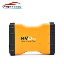 Mais novo obd2 2016. r1 pro mvdiag v3.0 pcb com bluetooth, multi veículo diag para carros/caminhões/gerações scanner automotivo ferramenta de diagnóstico