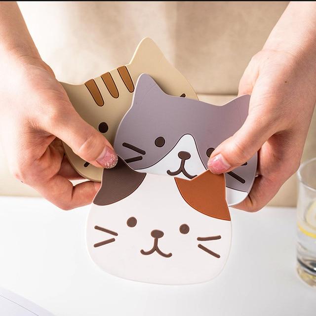 Cat Coffee Coaster 2