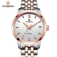 STARKING часы женские Автоматические самовзводные аналоговые женские водонепроницаемые наручные часы из нержавеющей стали 5atm женские часы ...