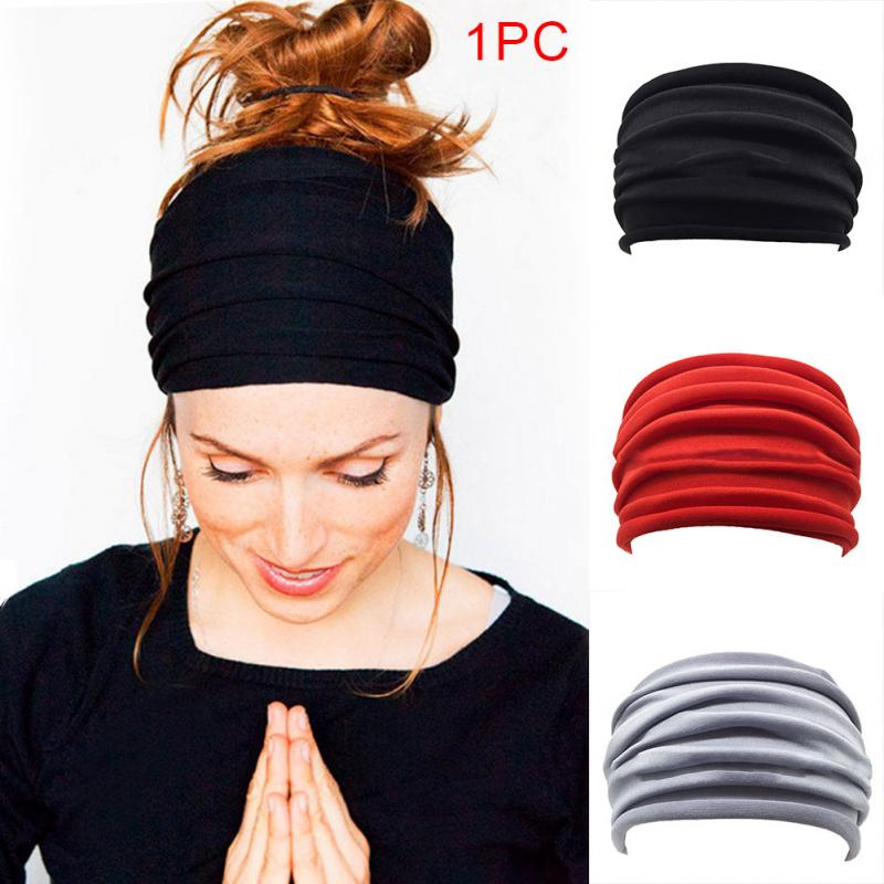 Headband For Women Men Elastic Sport Hairbands Head Band Yoga Headbands Headwear Headwrap Girls Hair Accessories