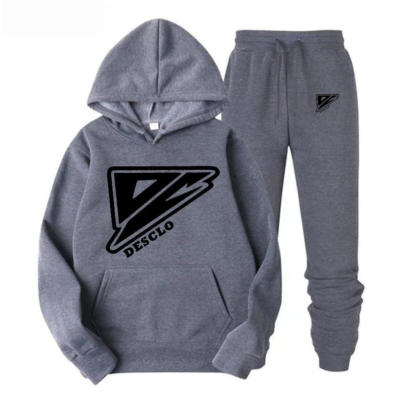 2019 New Brand Fashion  Sweatshirts hoodie Men Anime Hoodies Black and white triangle Men/Women Cotton