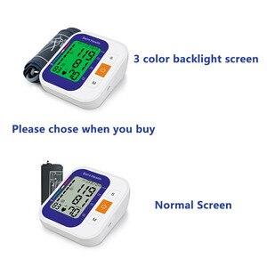 Image 2 - Tensiomètre numérique pour mesurer la tension artérielle, rythme cardiaque, voix russe, tonomètre, sphygmomanomètre