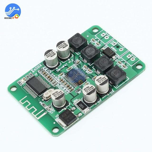 TPA3110 2 × 15 ワットbluetoothオーディオパワーアンプボード用 4/6/8/10 オームスピーカーデュアルチャンネル音質