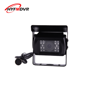 Factory wholesale 2 inch waterproof car camera 12V wide voltage HD infrared off-road vehicle / big ship / sanitation car image