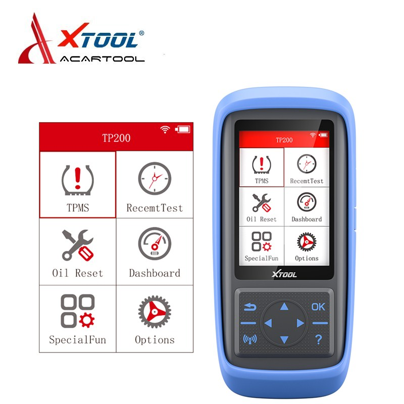 XTOOK Direct Tire Pressure Monitoring System TP200 0 4.5 Bar 315MHZ/433MHZ Sensor Tire pressure Monitor OBD2 Diagnostis