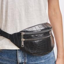 Поясная Сумка для женщин, дизайнерская брендовая роскошная сумка высокого качества из крокодиловой кожи, женская сумка из искусственной кожи, поясная сумка, сумка для сообщений