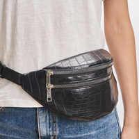 Sac de ceinture taille packs pour femmes marque de créateur sac de luxe de haute qualité crocodile femmes sac en cuir PU sac banane sac de message