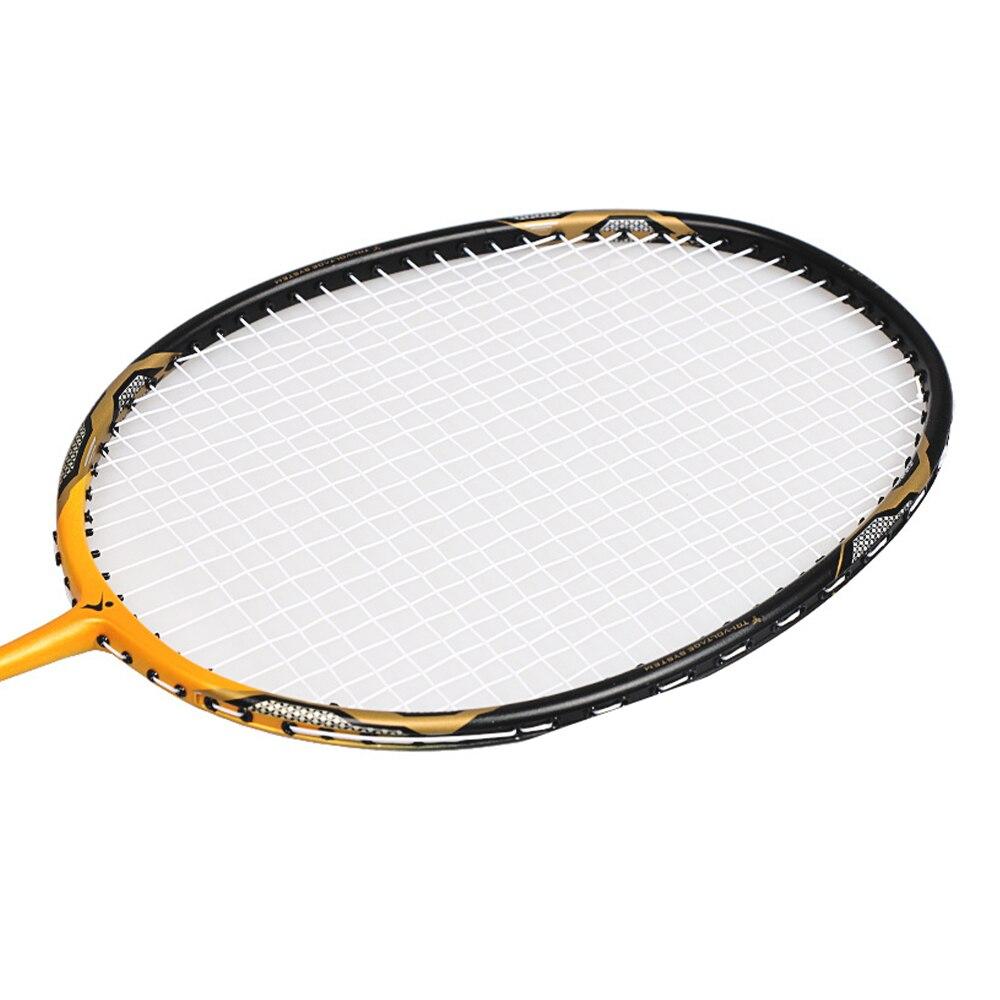 alta qualidade raquete de badminton com saco interior