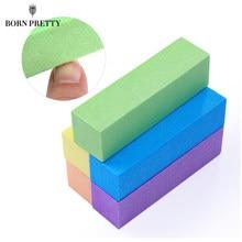 5/10 pçs conjunto de arquivos de buffer de unhas esponja lixar bloco moagem polimento manicure pedicure profissional ferramentas da arte do prego