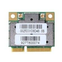 Uydu T130 T130-13N Medion Akoya P6625 Mini PCI-E WiFi kablosuz adaptör kartı RTL8191SE aksesuarları kiti