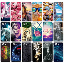 Case For Sony Xperia Z3 Compact Xperia Z3 mini M55W D5803 D5833 Phone Bags Soft Silicone Cases for Sony Xperia Z3 Compact Z3mini skinbox lux aw чехол для sony xperia z3 black
