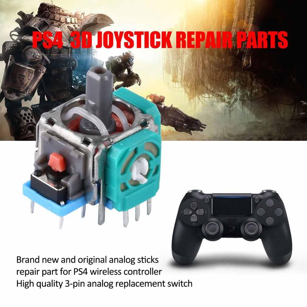3D 아날로그 조이스틱 썸 스틱 교체 수리 부품 센서 모듈 전위차계 Sony Dualshock 4 PS4 컨트롤러 게임 패드
