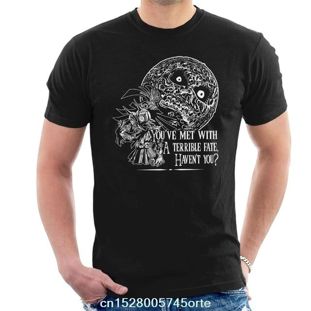 Gedruckt lustige 2020 camiseta Legende Von Zelda Schreckliche Schicksal Majoras Maske männer T-Shirt 100% baumwolle frauen t-shirt