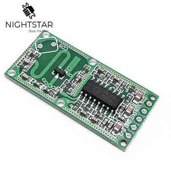 RCWL-0516 RCWL 0516 czujnik mikrofalowy moduł czujnika ludzkiego ciała czujnik indukcyjny moduł przełączający wyjście 3.3V