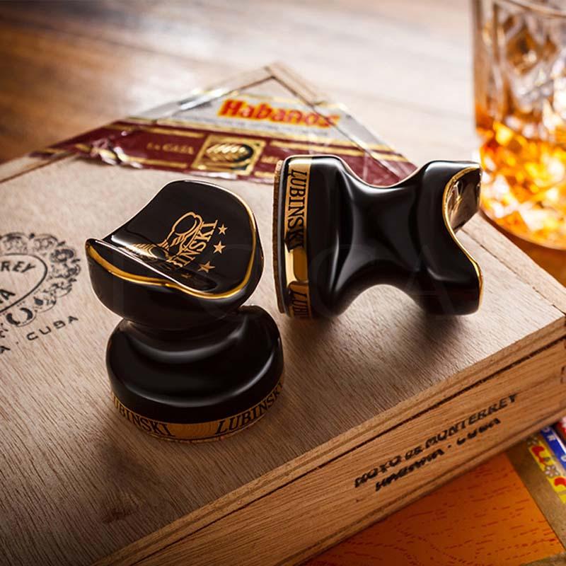 COHIBA Cigar Stand Holder Portable Outdoor Ceramic Ashtray Holder Pocket Mini Cigars Holder Stand For 1 Pcs Cuban Cigar