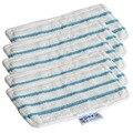 5 шт швабры для Black & Decker Паровая Швабра FSM1610 FSM1630 моющиеся и многоразовые Сменные моющие салфетки