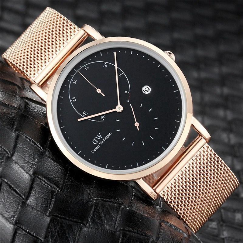 2020 Luxury role Fashion Mens Maserati Watches Quartz Steel Rolexable Top Brand Green Wrist Watch For Man relogio women x