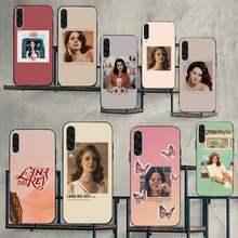Funda de teléfono para Samsung galaxy S, modelos llamativos de Lana Del Rey, 7, 8, 9, 10, 20, A, 6, 10, 20, 30, 50, 51, 70, note 10 plus