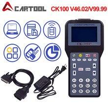 Ferramenta de diagnóstico obd2 ck100 programador chave com 1024 tokens CK-100 v99.99/46.02 ck100 obd auto programador chave acessórios do carro