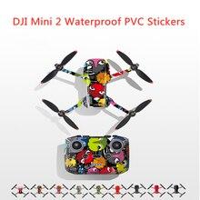 DJI Mini 2 Waterproof PVC Stickers Drone Body Remote Control Scratch Protection Film For DJI Mavic Mini 2  Stickers Accessories