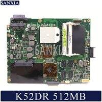 KEFU K52DR Laptop motherboard for ASUS K52DR A52DE K52DE A52DR K52D original mainboard AMD 512MB Video card