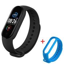 M5 banda inteligente bluetooth pulseira esporte relógio inteligente 2020 rastreador de fitness pedômetro monitor freqüência cardíaca para android ios