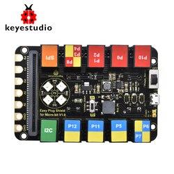 Keyestudio DỄ DÀNG Cắm RJ11 6P6C Shield V1.0 cho Micro: Bit
