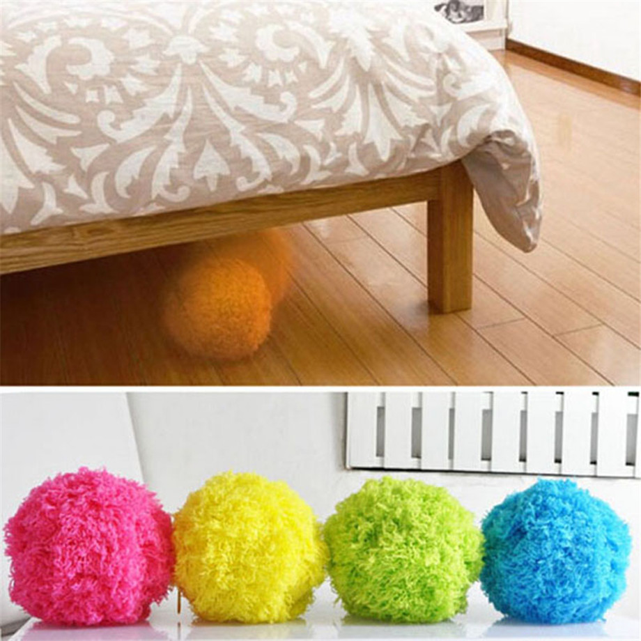 Yellow Creative Home Floor Automatic Rolling Ball Vacuum Cleaner Mini Size Mocoro Microfiber Robotic Mop Ball Cleaner