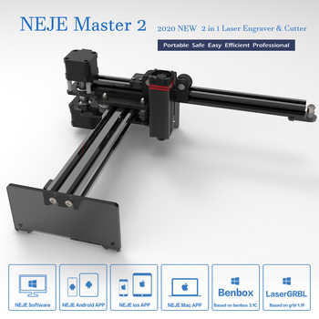 NEJE Master 2 20W Desktop CNC Wood Router Laser Engraver Cutter Laser Engraving Machine APP Control for Windows, Mac , Android - Category 🛒 Tools