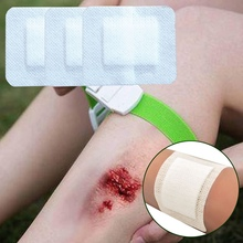 Aid-Bandage Medical-Adhesive First-Aid Hypoallergenic Wound Large Non-Woven 10pcs 6--7cm