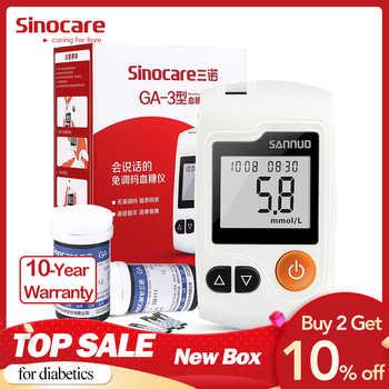Sinocare GA-3 Glucometer Diabetes Blut Glucose Meter & Test Streifen & Lanzetten Glm Medizinische Blut Zucker Meter Diabetes Tester