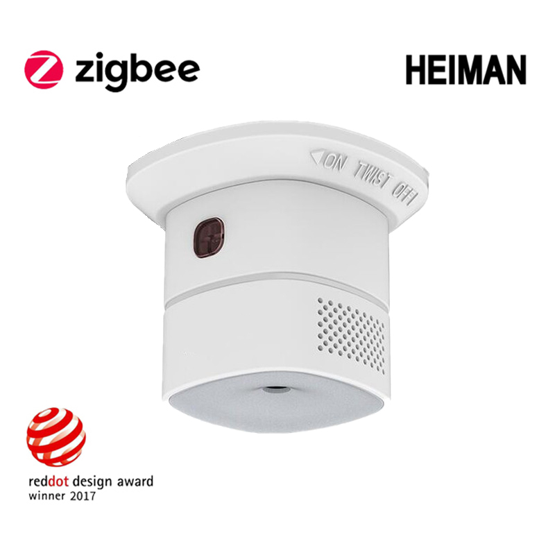 Wireless Zigbee Smart Carbon Carbon Monoxide Alarm Sensor CO Detector Form Smart Home Automation