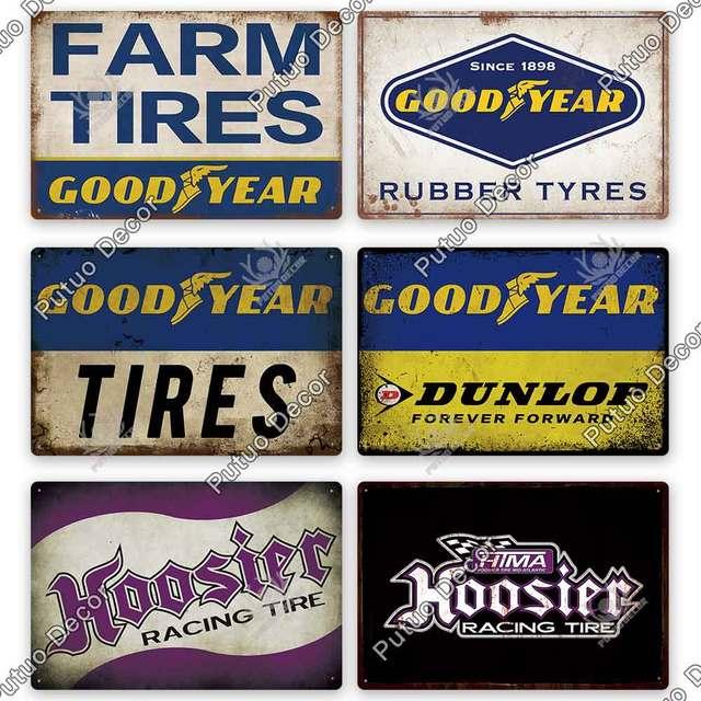 Garage Oil Metal Vintage Plates 10