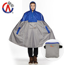 Buy QIAN Bicycle Raincoat Poncho Outdoor Multi-functional Hiking Riding Raincoat Thin Backpack One-piece Poncho lowestprice