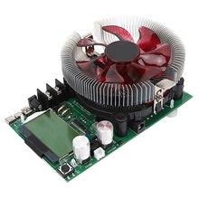 Yüksek güç sabit akım çift topuzu elektronik yük 150W 200V USB 20A ayarlanabilir deşarj kapasitesi ölçer