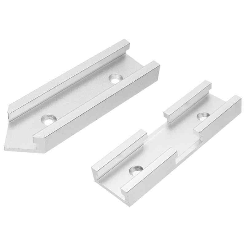1pc do obróbki drewna aluminium gniazdo Miter t-track złącze oprawa śruby Carpenter narzędzia do obróbki drewna dla routera tabeli Dropshipping