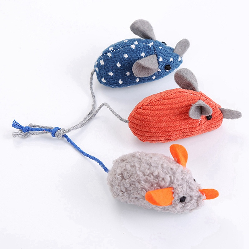 Simulation Plush Mouse Toy With Tail For Cats Pet Interactive Toy Teaser Kitten Supplies Puppy Playing Exercise Supplies Pet Toy 8