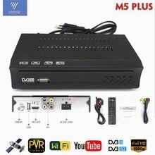 Tv por satélite receptor decodificador sintonizador av2018 totalmente hd DVB S2 suporte receptor nit pesquisa ota ftp atualização iks biss youtube caixa de tv