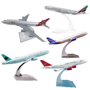 1/400 16cm A330 Diecast Airliner Plane Model Decoration with Base Education Kids Toy Gift