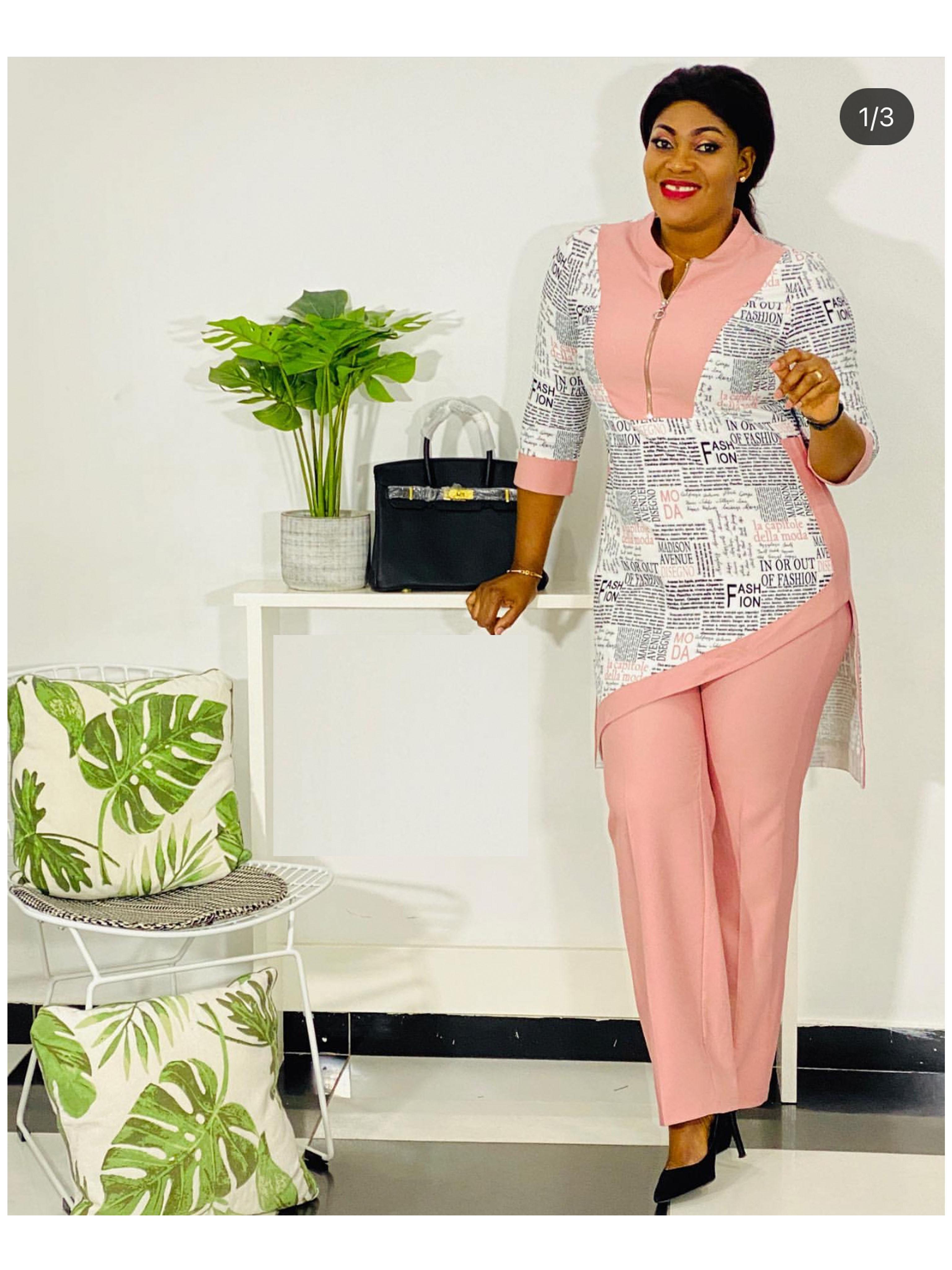 Dashiki African New Fashion Suit  5