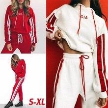 ZOGAA 2020 New Women Tracksuit 2 Piece Set Casual Sportswear