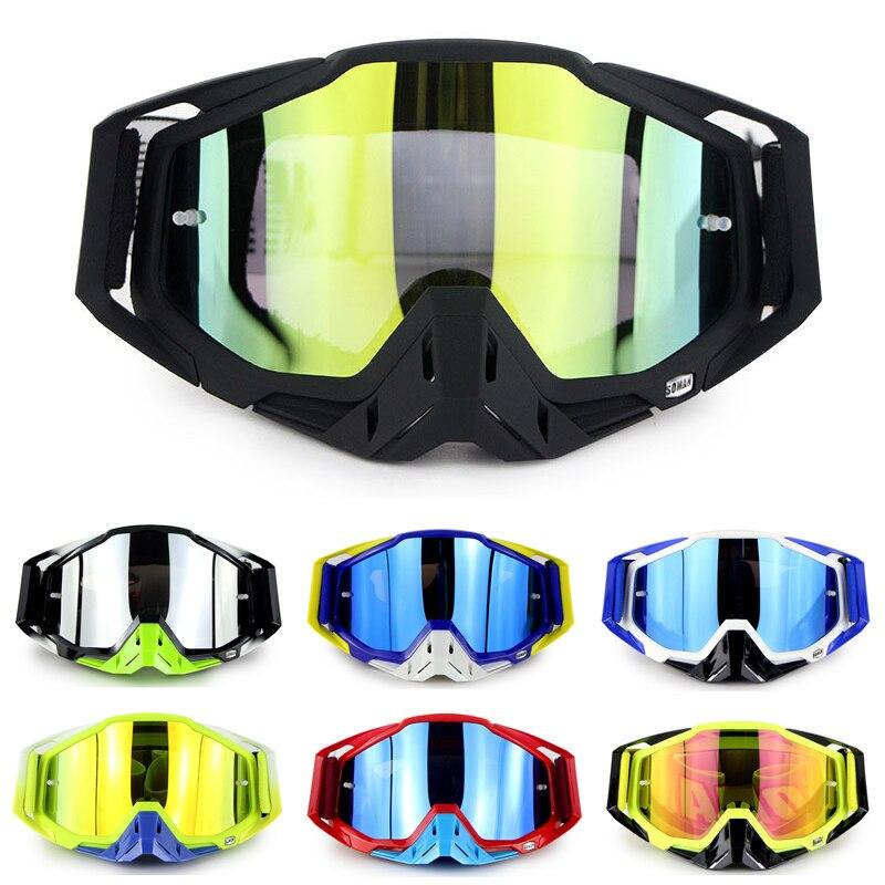 ATV Motocross Goggles MX Off Road Dirt Bike Motorcycle Helmets Goggles Ski Moto Glasses 100% ATV For Motocross Glasses Sets