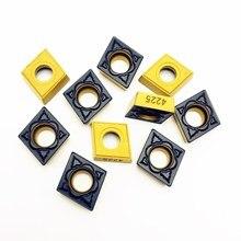 Высокое качество CCMT09T304 PM 4225 Карбид вставлять внутренние токарные инструменты Токарный резак инструмент CCMT 09T304 PM4225 Токарные вставки