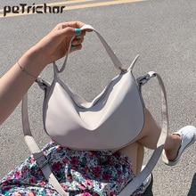 Fashion Design Totes Shoulder Bags For Women Solid Color Crossbody Bag Female Messenger Bags Ladies Soft PU Leather Sac Handbags