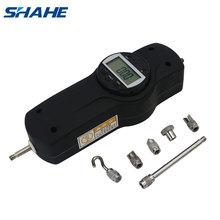 shahe portable Digital force meter dynamometer Digital Push Pull Gauge Force Measuring Instruments SDF Economic Force Gauge cheap RoHS CN(Origin) SF series 500N 3V CR2032 (not included)
