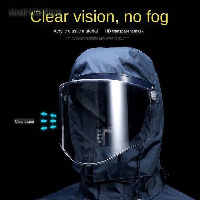 Electric Motorcycle Raincoat  Waterproof Suit  Rain Coat Jacket Men Riding Rain Pants Set Double Thickened Mens Sports Suits 2