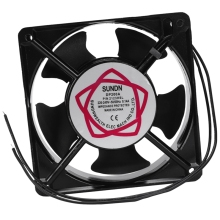 120x120x38mm 5 Blades Metal Frame Axial Flow Cooling Fan AC 220/240V 0.14A 22W 220x220x60 axial ac fan ac 380v 220 220 60 20060 cooler cooling fan