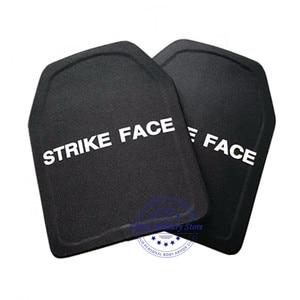 Image 5 - 1pc STA Shooter Cut NIJ III Level Bulletproof Plate Anti ballistic Ceramic Plate For JPC Tactical Vest
